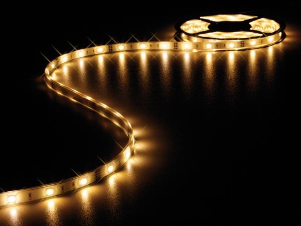 Fantastisk Vandtæt LED strip (IP68) - 12V, 150 LED, 3500K (5m) RD68