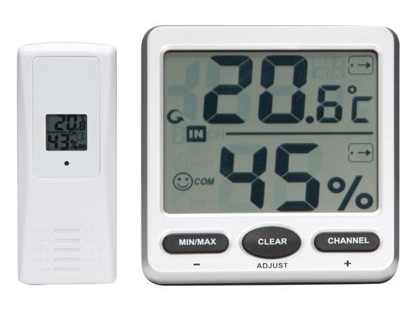 termometer med hygrometer