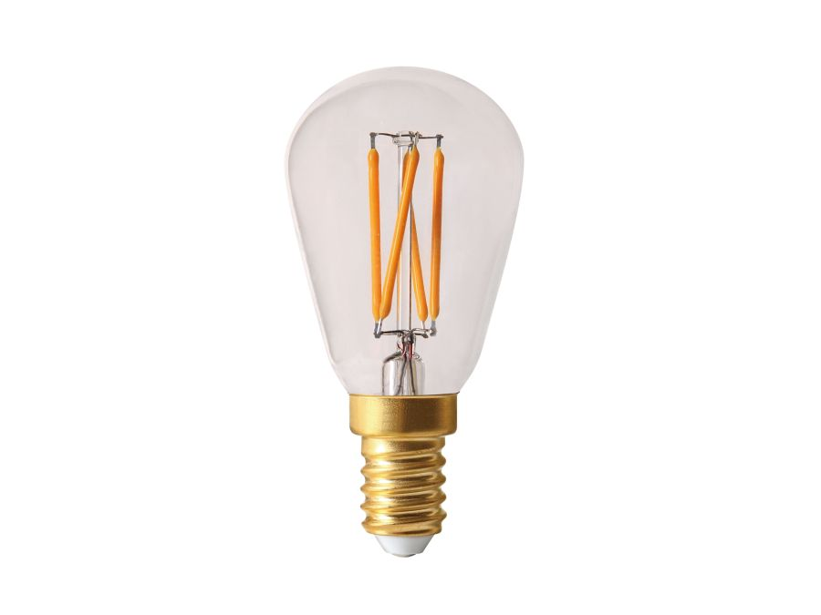 led filament mini edison 240v 2 5w e14 2200k. Black Bedroom Furniture Sets. Home Design Ideas