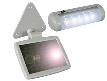 Groovy Solcelle LED lampe - Udendørs solpanel LU61